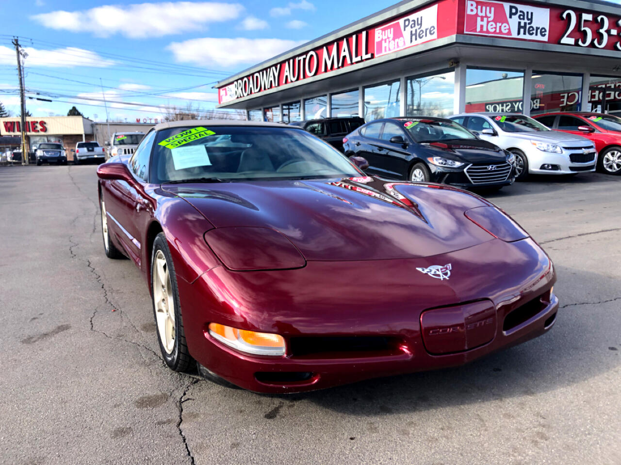 Chevrolet Corvette 2dr Convertible 2003