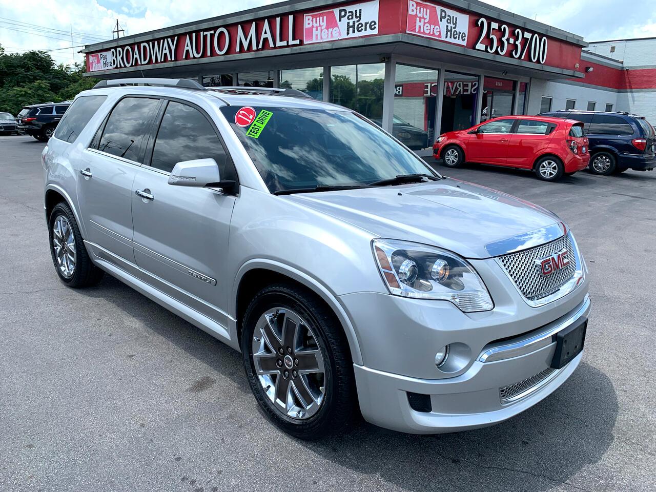 GMC Acadia FWD 4dr Denali 2012