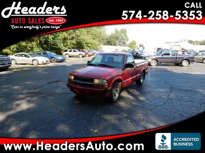 1998 Chevrolet S10 Pickup Reg. Cab Short Bed 2WD