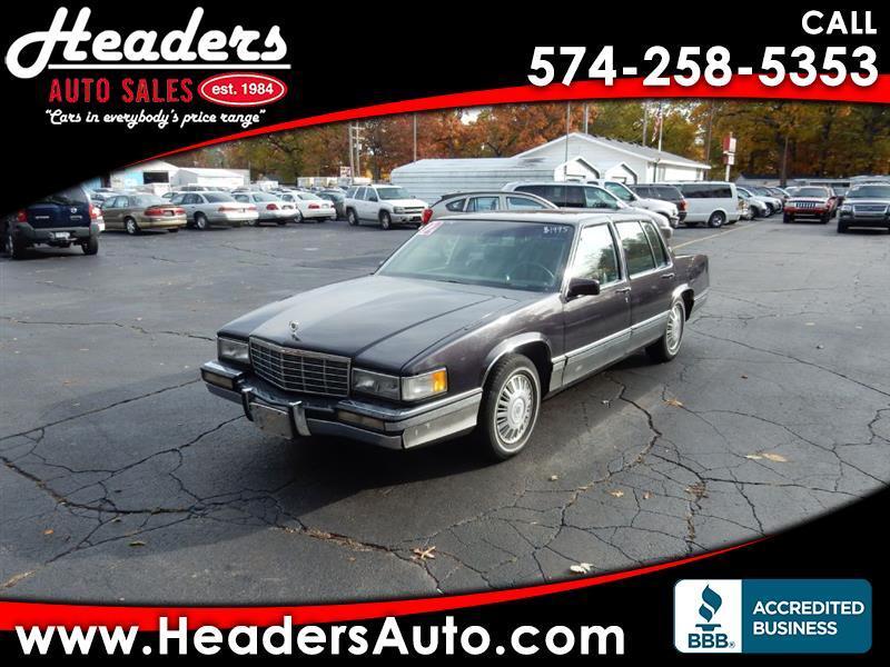 1992 Cadillac DeVille Sedan