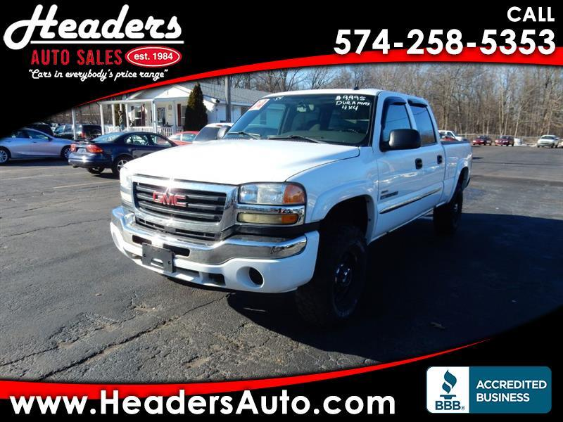 2004 GMC Sierra 2500HD Crew Cab Short Bed 4WD