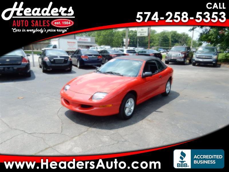 1998 Pontiac Sunfire SE convertible