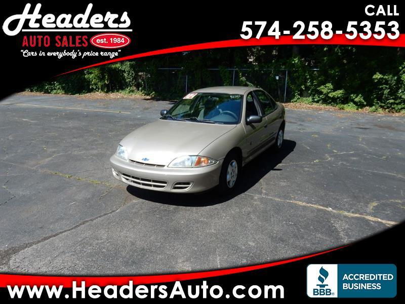 Chevrolet Cavalier Sedan 2002