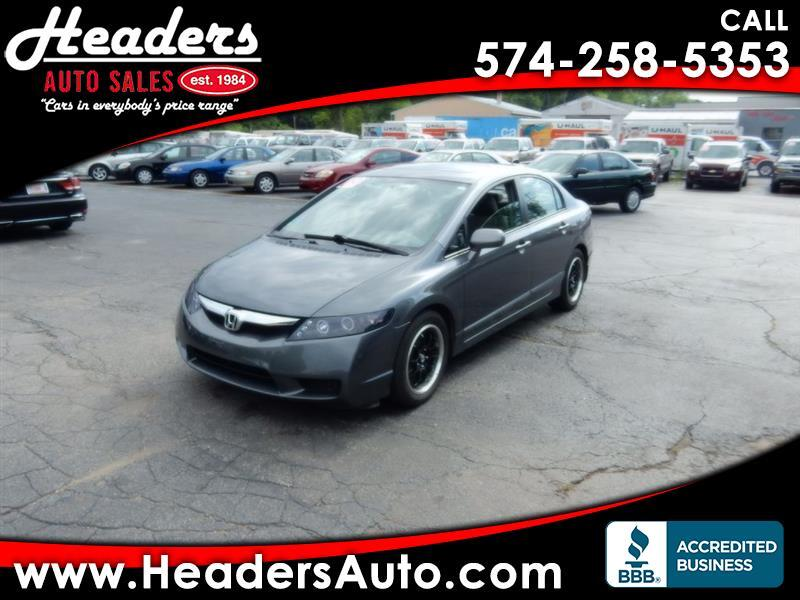 Honda Civic EX-L Sedan 5-Speed AT 2009