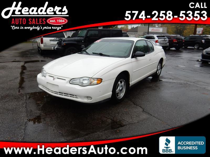 Chevrolet Monte Carlo LS 2003