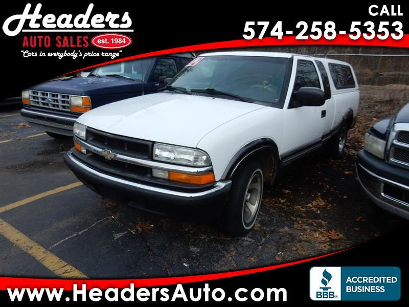 Chevrolet S10 Pickup LS Ext. Cab 2WD 2002