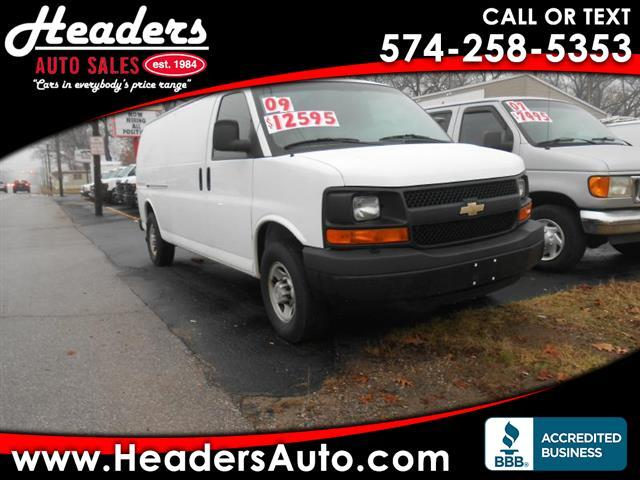 2009 Chevrolet Express 3500 Extended Cargo
