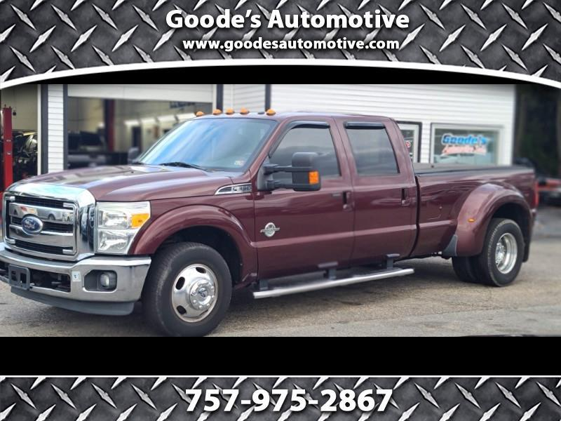 Ford F-350 SD King Ranch Crew Cab Long Bed DRW 2WD 2011