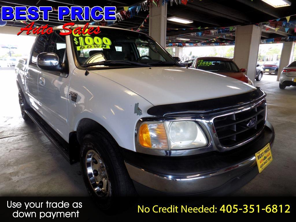 2002 Ford F-150 XLT SuperCrew Short Bed 2WD