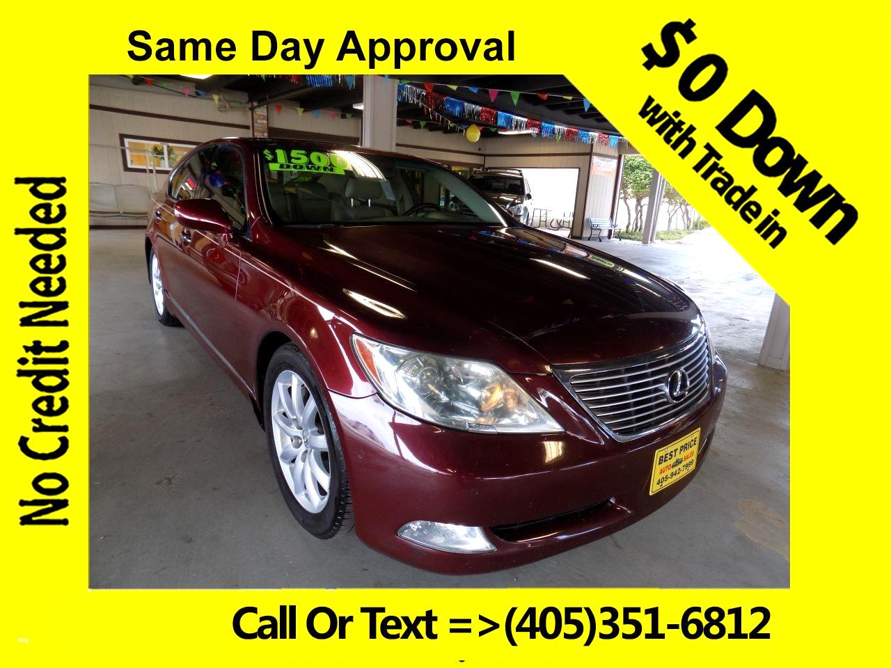 2007 Lexus LS 460 Luxury Sedan