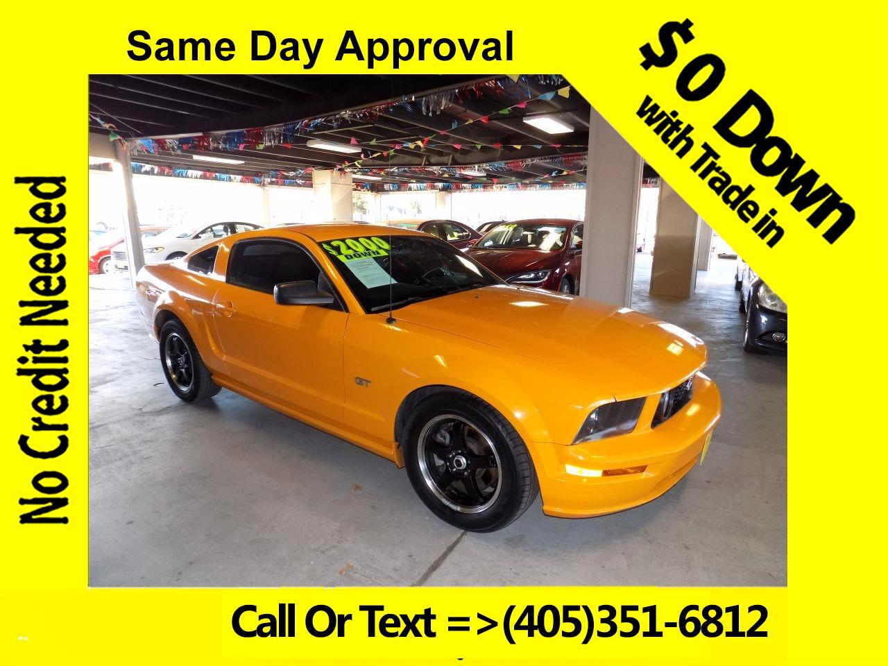 2008 Ford Mustang GT Deluxe Coupe
