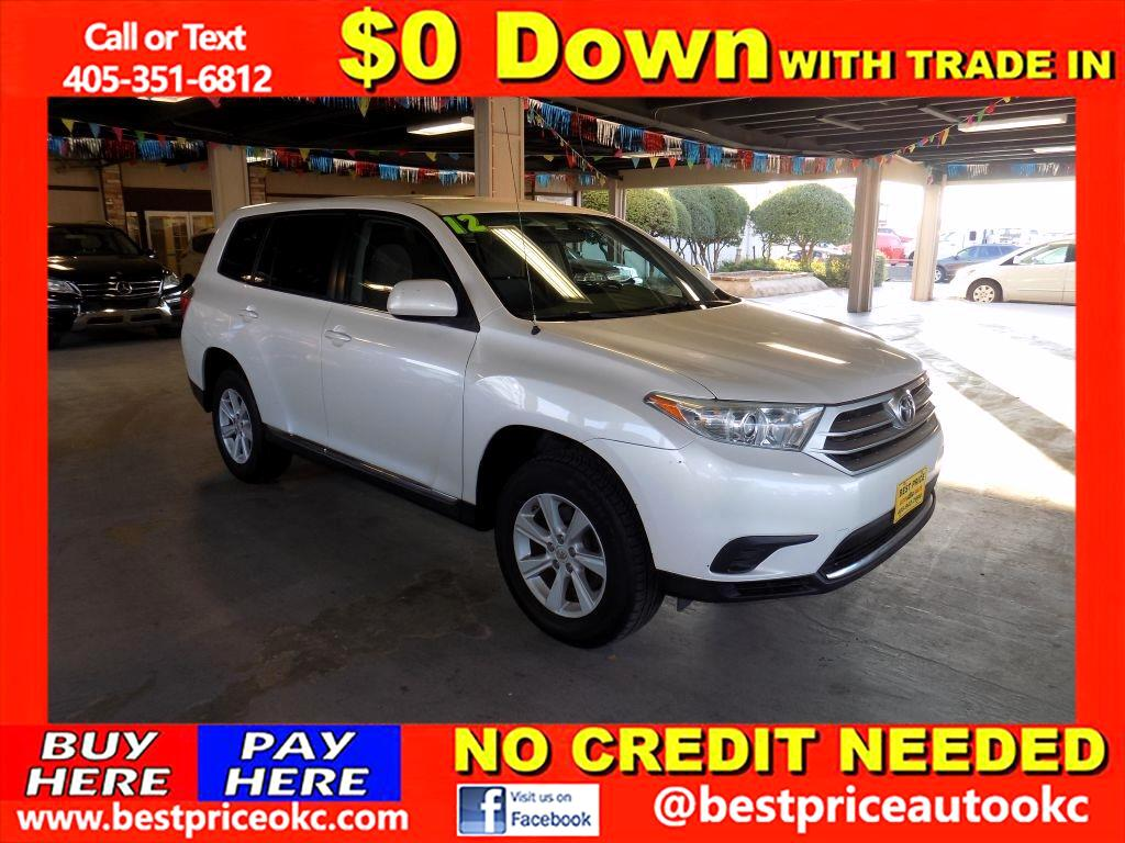 2012 Toyota Highlander Base 2WD I4
