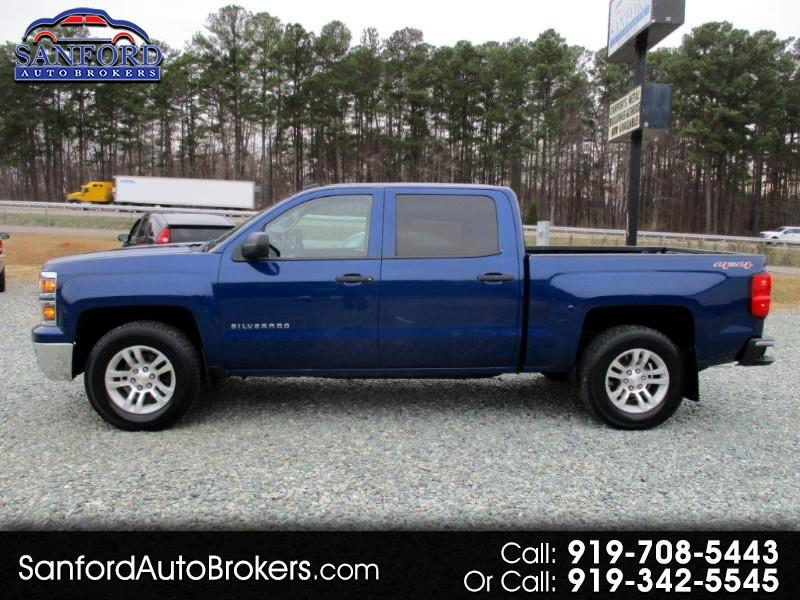 Chevrolet Silverado 1500 2LT Crew Cab Long Box 4WD 2014