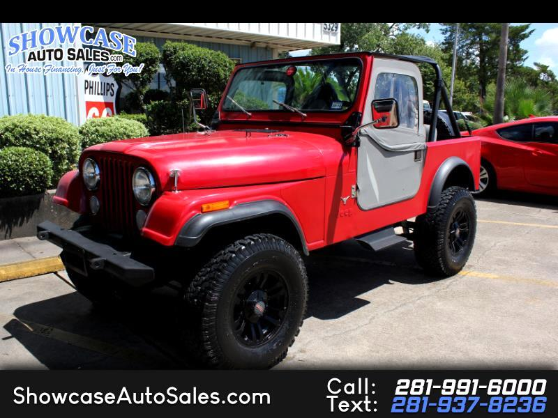 1984 AMC CJ7 Base