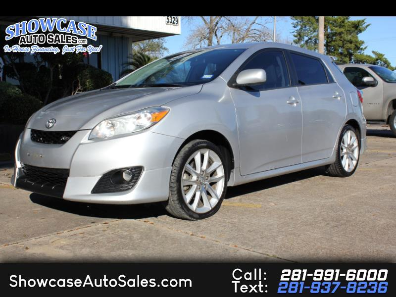 2009 Toyota Matrix 5dr Wgn Man XRS FWD (Natl)