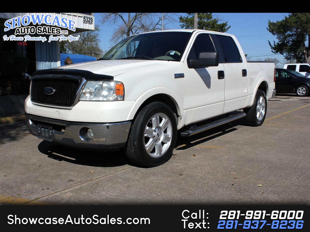 "Ford F-150 2WD SuperCrew 139"" Lariat 2007"