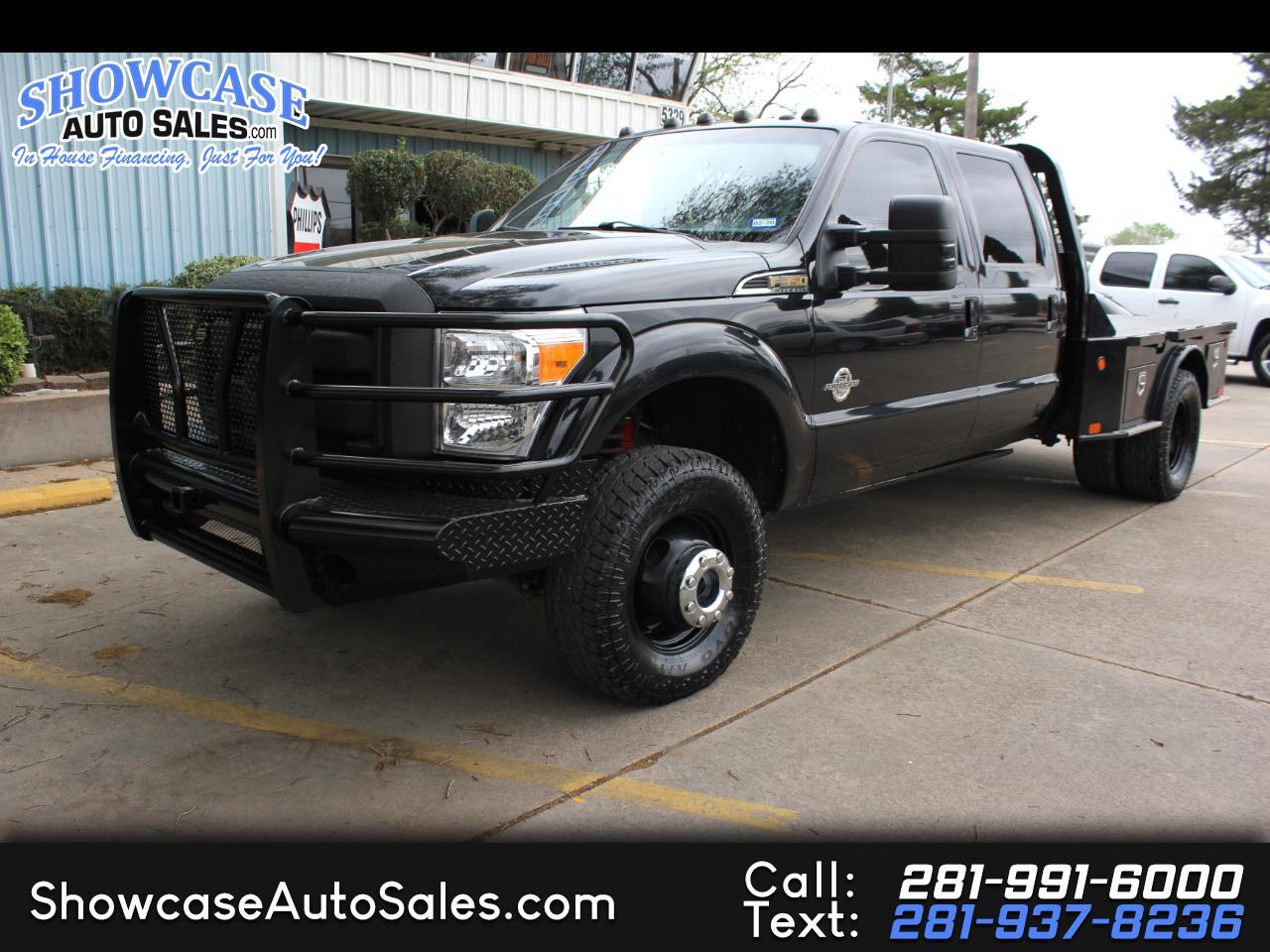 Ford F-350 SD Lariat Crew Cab Long Bed DRW 4WD 2012