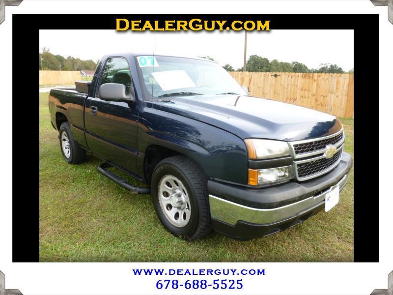 "2007 Chevrolet Silverado Classic 1500 2WD Reg Cab 119.0"" Work Truck"