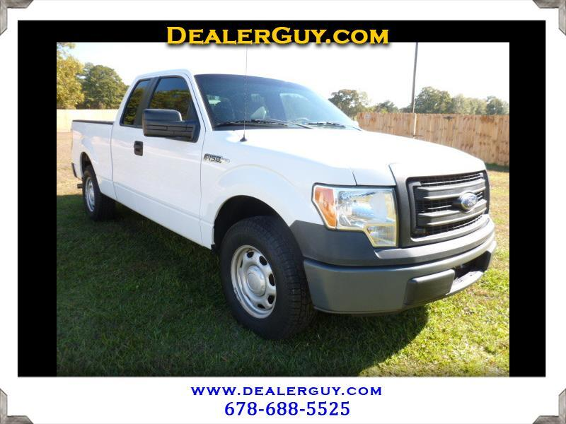 "2013 Ford F-150 2WD SuperCab 145"" XL"