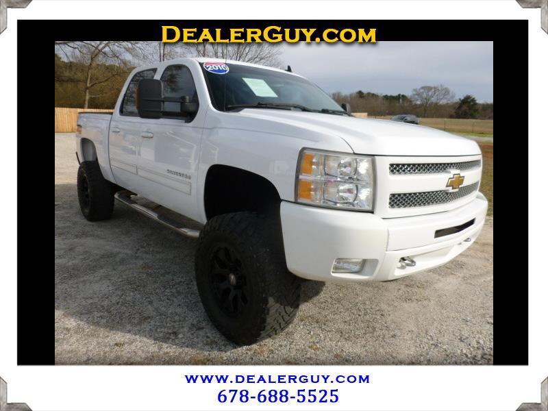 """2010 Chevrolet Silverado 1500 4WD Crew Cab 143.5"""" LT"""