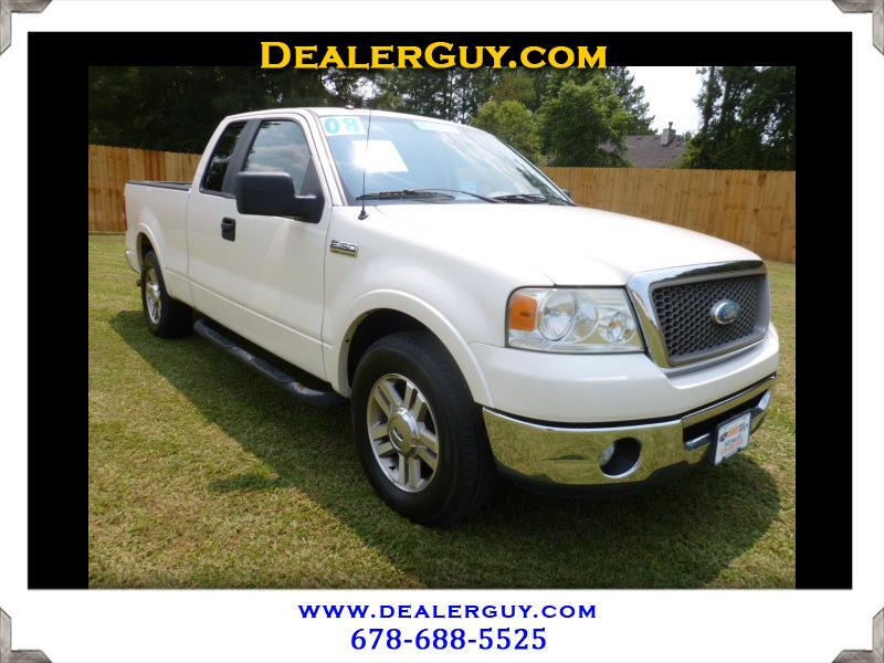 """2008 Ford F-150 2WD SuperCab 145"""" Lariat"""