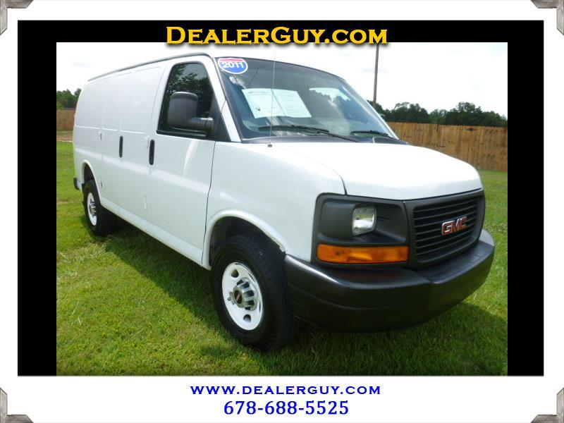 "2011 GMC Savana Cargo Van RWD 3500 135"""