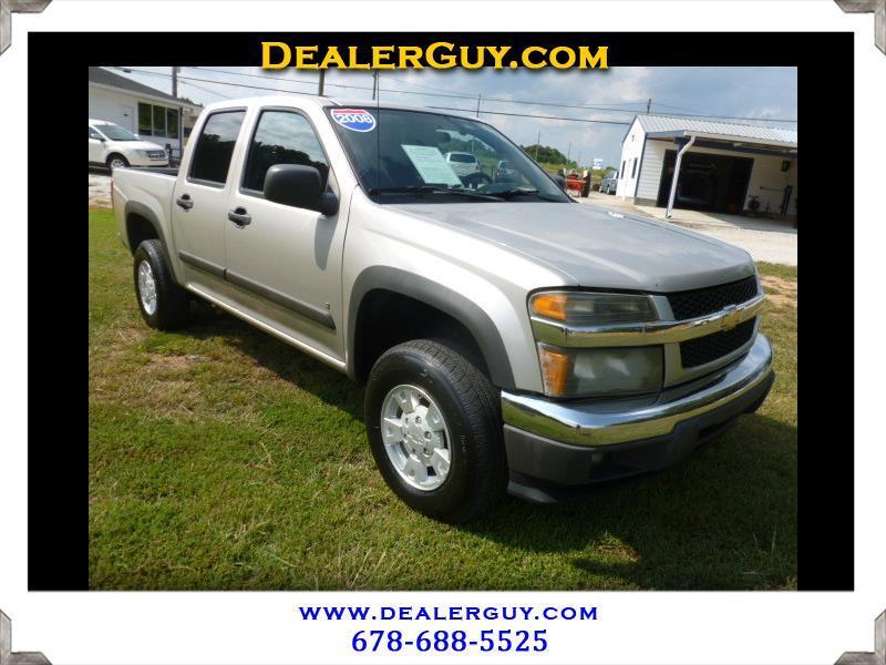 "2008 Chevrolet Colorado 4WD Crew Cab 126.0"" LT w/1LT"