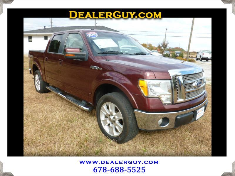 Ford F-150 Lariat SuperCrew 4WD 2010