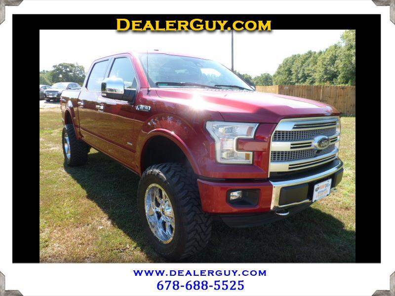"2016 Ford F-150 4WD SuperCrew 145"" Platinum"