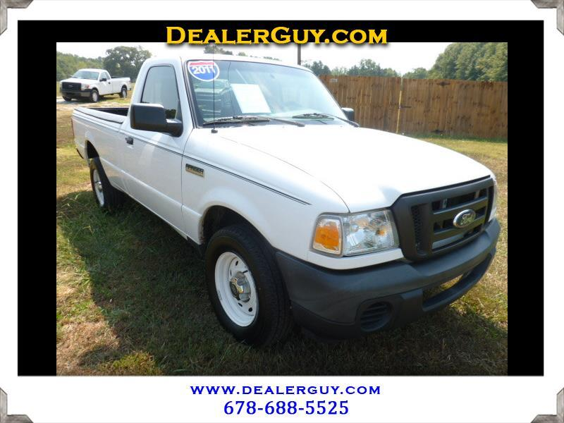 """Ford Ranger 2WD Reg Cab 118"""" XL 2011"""