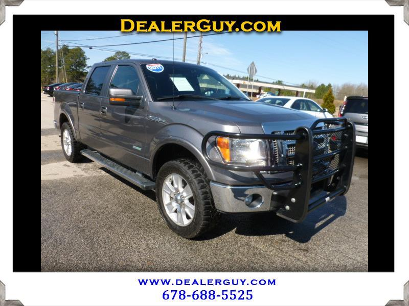 Ford F-150 Lariat SuperCrew 2WD 2011