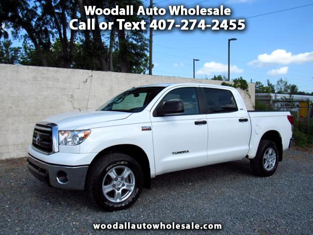 2013 Toyota Tundra CrewMax 5.7L FFV V8 6-Spd AT