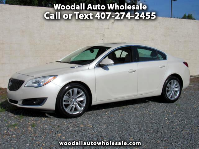 2015 Buick Regal 4dr Sdn Turbo FWD