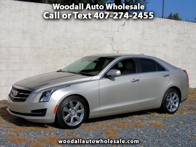 2015 Cadillac ATS 4dr Sdn 3.6L Luxury RWD
