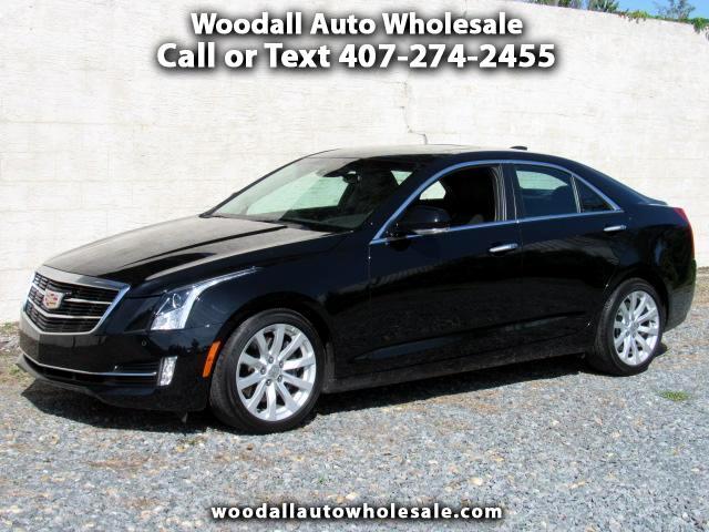 2018 Cadillac ATS 4dr Sdn 3.6L Premium Luxury RWD