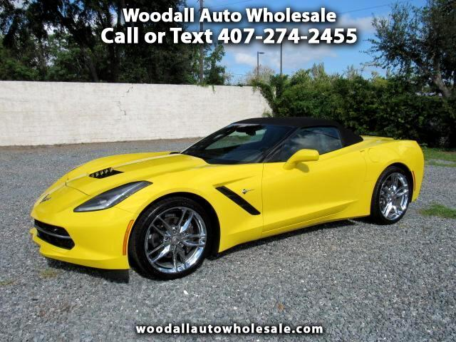 2018 Chevrolet Corvette 2dr Stingray Conv w/3LT