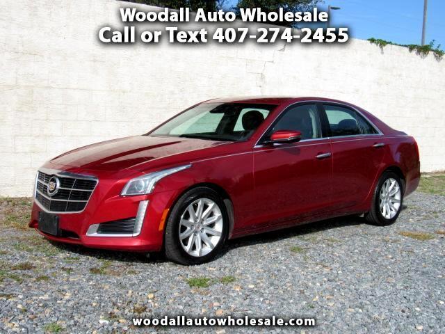 2014 Cadillac CTS 4dr Sdn 3.6L Luxury RWD