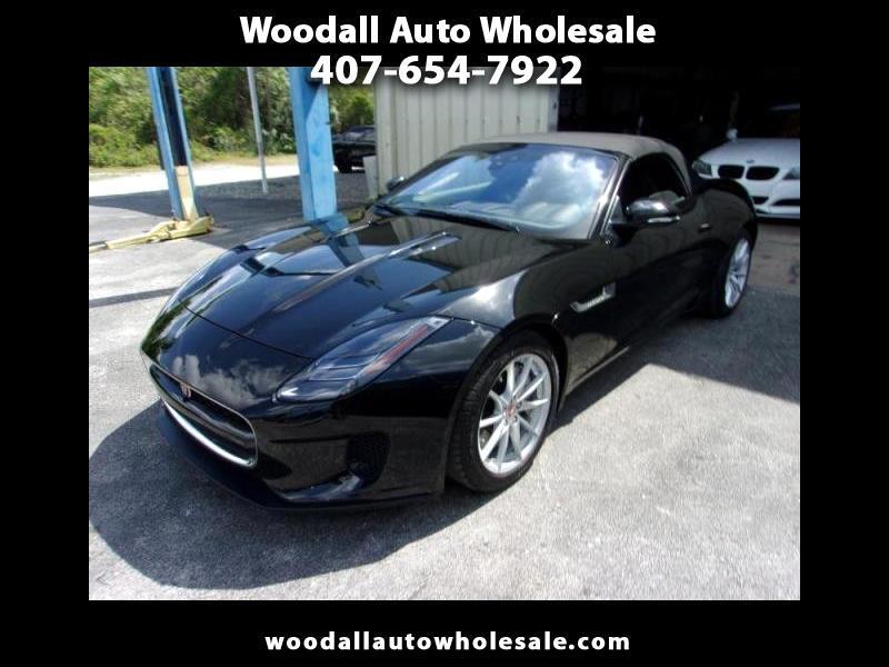 2018 Jaguar F-Type Convertible Auto 296HP