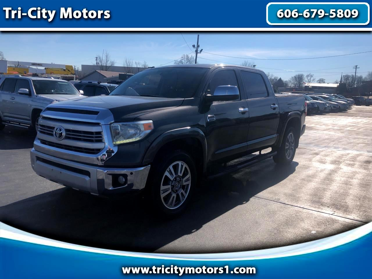 Toyota Tundra 4WD Truck CrewMax 5.7L V8 6-Spd AT 1794 (Natl) 2015