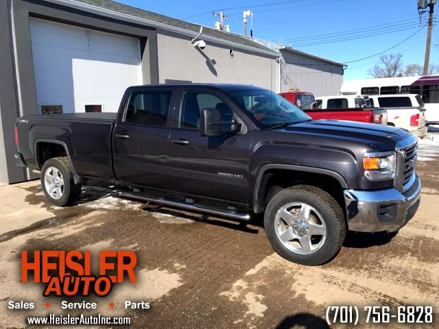 2015 GMC Sierra 2500HD Crew Cab Long Bed 4WD