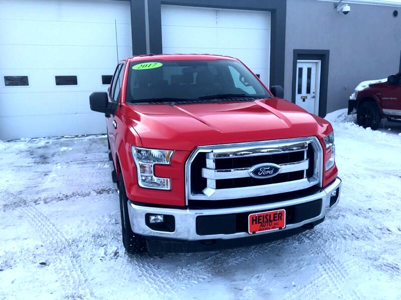 "2017 Ford F-150 SuperCrew 139"" XLT 4WD"