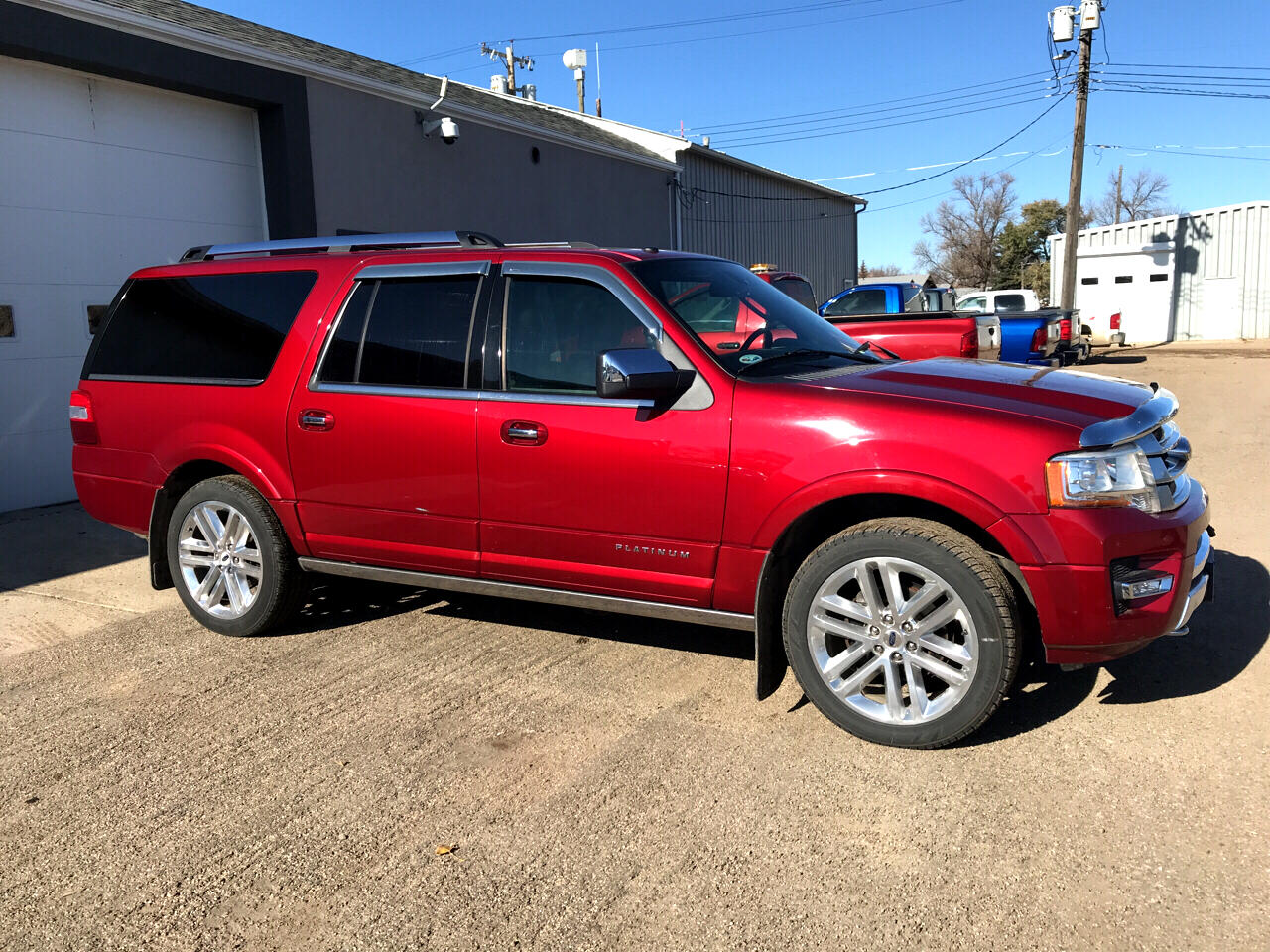 Ford Expedition EL Platinum 4WD 2015