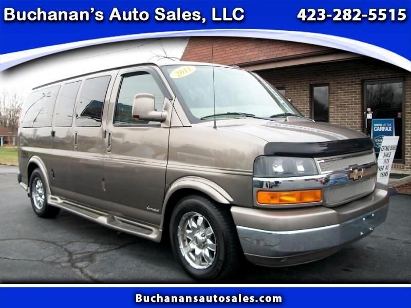 2011 Chevrolet Express G1500 3LT RV