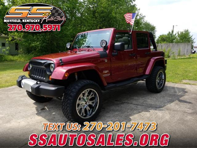 2011 Jeep Wrangler 4WD 4dr Unlimited Sahara