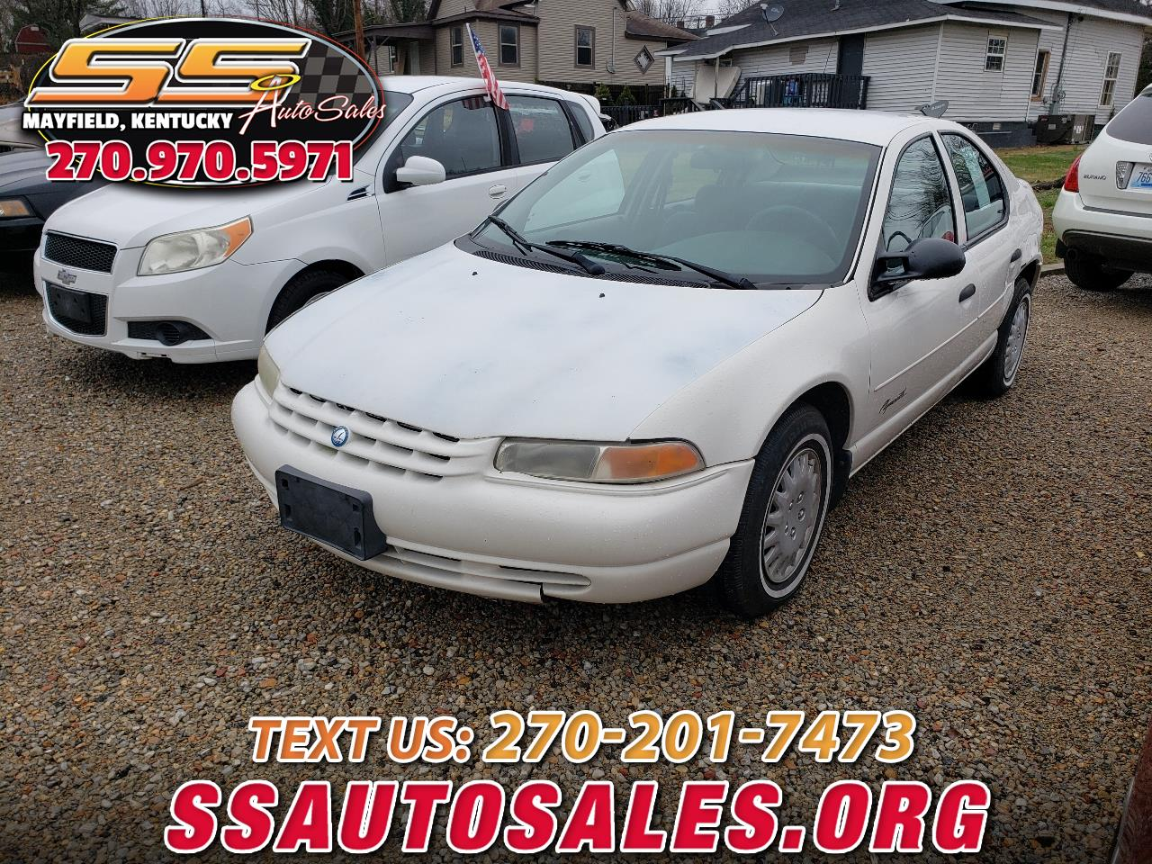 1998 Plymouth Breeze 4dr Sdn