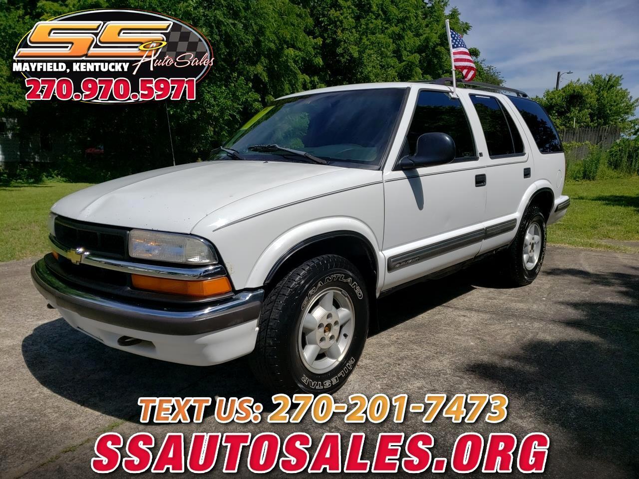 1998 Chevrolet Blazer 4dr 4WD LS