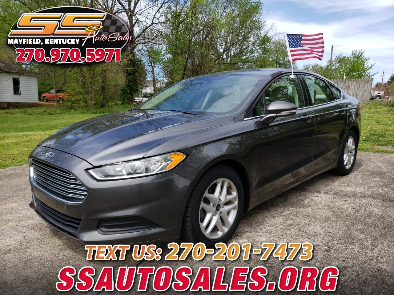 2015 Ford Fusion 4dr Sdn I4 SE FWD