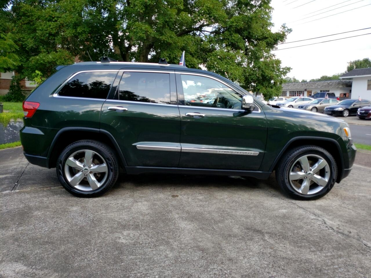 2011 Jeep Grand Cherokee 4dr Overland 4WD