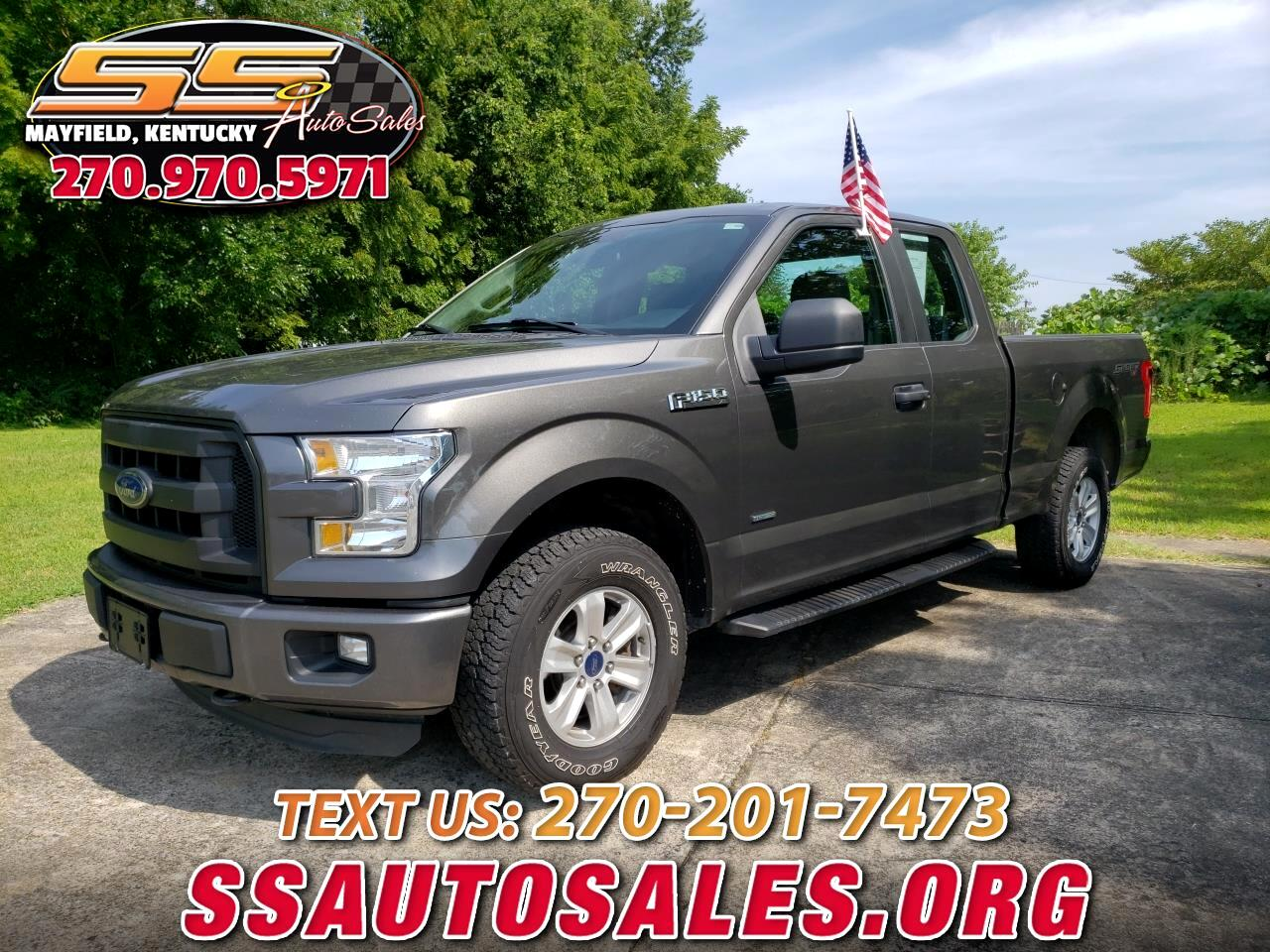 "2015 Ford F-150 4WD SuperCab 163"" XL"