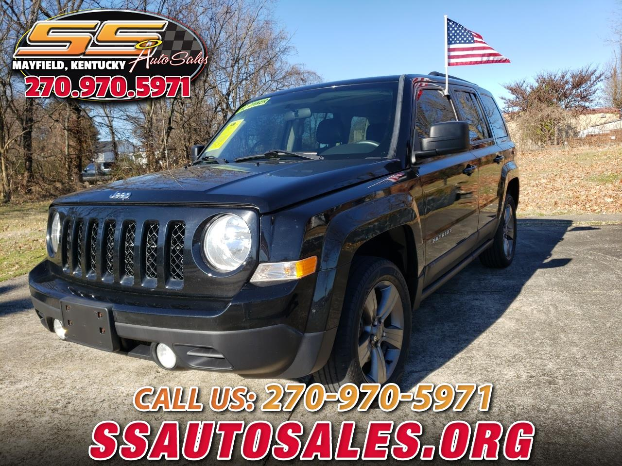 Jeep Patriot 4WD 4dr High Altitude Edition 2015